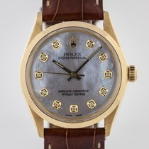 Rolex 1002 Yellow gold 1966 Oyster Perpetual 34 34mm pre-owned