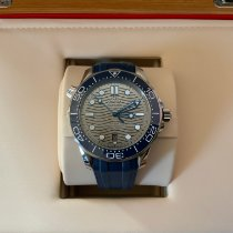 Omega Seamaster Diver 300 M Steel 42mm Grey No numerals India, Airoli