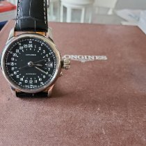 Longines Twenty-Four Hours Steel Black Arabic numerals