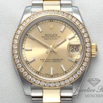 Rolex Or/Acier 2011 Datejust 31mm occasion