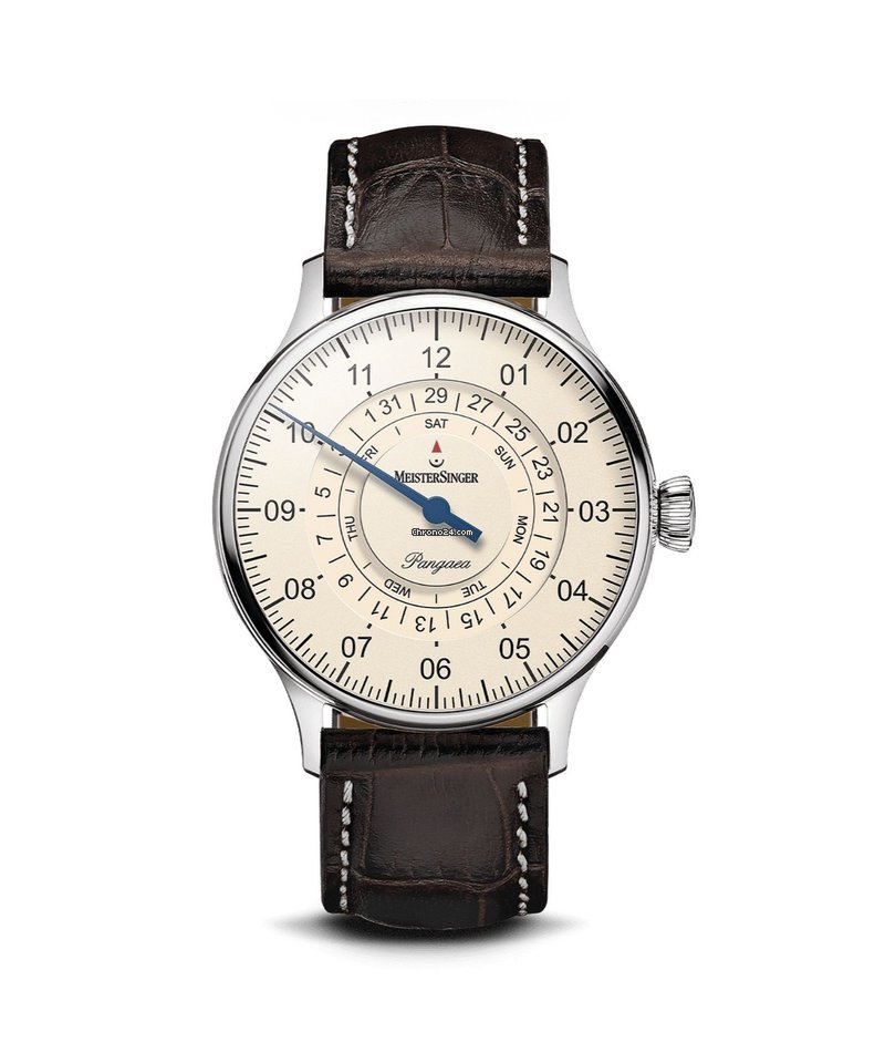 Meistersinger Pangaea Day Date PDD903_SG02W new