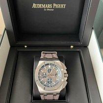 Audemars Piguet Titanium Automatic Grey No numerals 44mm new Royal Oak Offshore Chronograph
