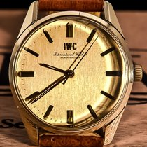 IWC Gold/Steel 35mm Manual winding R 910 pre-owned
