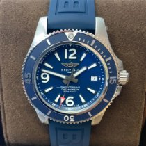 Breitling Superocean 42 Steel 42mm Blue Arabic numerals