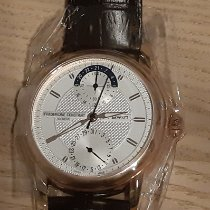 Frederique Constant Manufacture Classic Gold/Stahl 42mm Silber Keine Ziffern