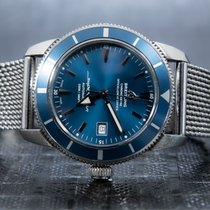 Breitling Superocean Heritage 42 Acero 42mm Azul Sin cifras