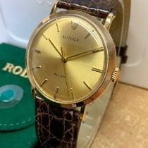 Rolex Oyster Precision Yellow gold 34mmmm Champagne