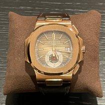 Patek Philippe 5980R-001 Oro rosa 2014 Nautilus 40.5mm nuevo