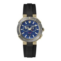 Versace Steel 46mm Quartz VECN00119 new