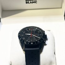 Montblanc new Automatic Luminous hands PVD/DLC coating 43mm Steel Sapphire crystal