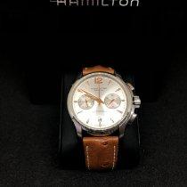 Hamilton Jazzmaster Auto Chrono Acier 42mm Argent