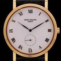 Patek Philippe Calatrava Yellow gold 33mm White Roman numerals United States of America, New York, New York