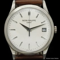 Patek Philippe Calatrava White gold 38mm White No numerals United States of America, New York, New York