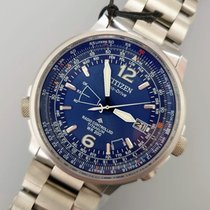 Citizen Titanium 42.4mm Blue Arabic numerals
