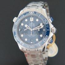 Omega 21030445103001 Acier 2020 Seamaster Diver 300 M 44mm nouveau