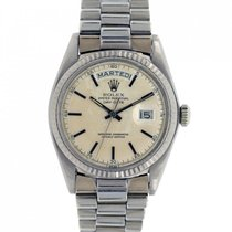 Rolex Day-Date 36 occasion 36mm Or blanc