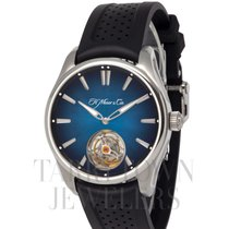 H.Moser & Cie. Steel 43mm Automatic 3804-1201 new United States of America, New York, Hartsdale