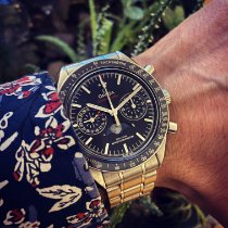 Omega Speedmaster Professional Moonwatch Moonphase Steel 44,25mm Black No numerals Finland, Oulu