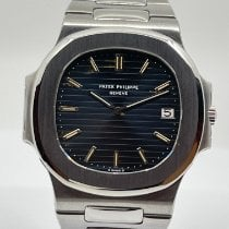 Patek Philippe pre-owned Automatic Black Sapphire crystal 10 ATM