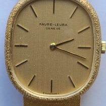 Favre-Leuba Yellow gold 30mm Manual winding 3572-21 pre-owned United States of America, Pennsylvania, Bethlehem