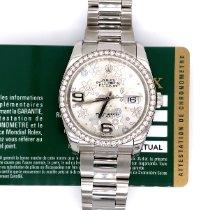Rolex Datejust Steel 36mm Silver Arabic numerals United States of America, New York, New York