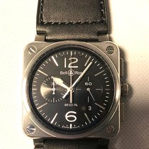 Bell & Ross BR 03-94 Chronographe Acero 42mm Negro