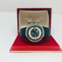 Omega Genève Steel 41mm Black No numerals United States of America, New Jersey, Upper Saddle River