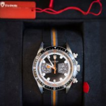 Tudor Heritage Chrono Steel 42mm Black No numerals United States of America, Colorado, Castle Pines