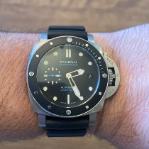 Panerai Luminor Submersible Steel 42mm Black No numerals United States of America, Illinois, Roselle