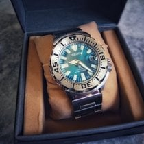 Seiko Monster Steel Green
