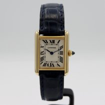 Cartier Tank Louis Cartier Yellow gold 29.5mm Silver Roman numerals United States of America, California, Santa Monica