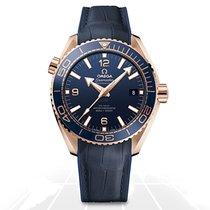 Omega Seamaster Planet Ocean nuevo Automático Reloj con estuche y documentos originales 21563442103001