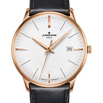 Junghans Meister MEGA Steel 38,4mm Silver No numerals