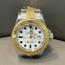 Rolex Yacht-Master 40 Gold/Steel 40mm White No numerals