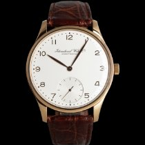 IWC Portuguese Hand-Wound Or rouge 42mm Argent
