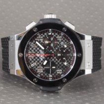 Hublot Big Bang 44 mm tweedehands 44mm Zwart Chronograaf Datum Rubber