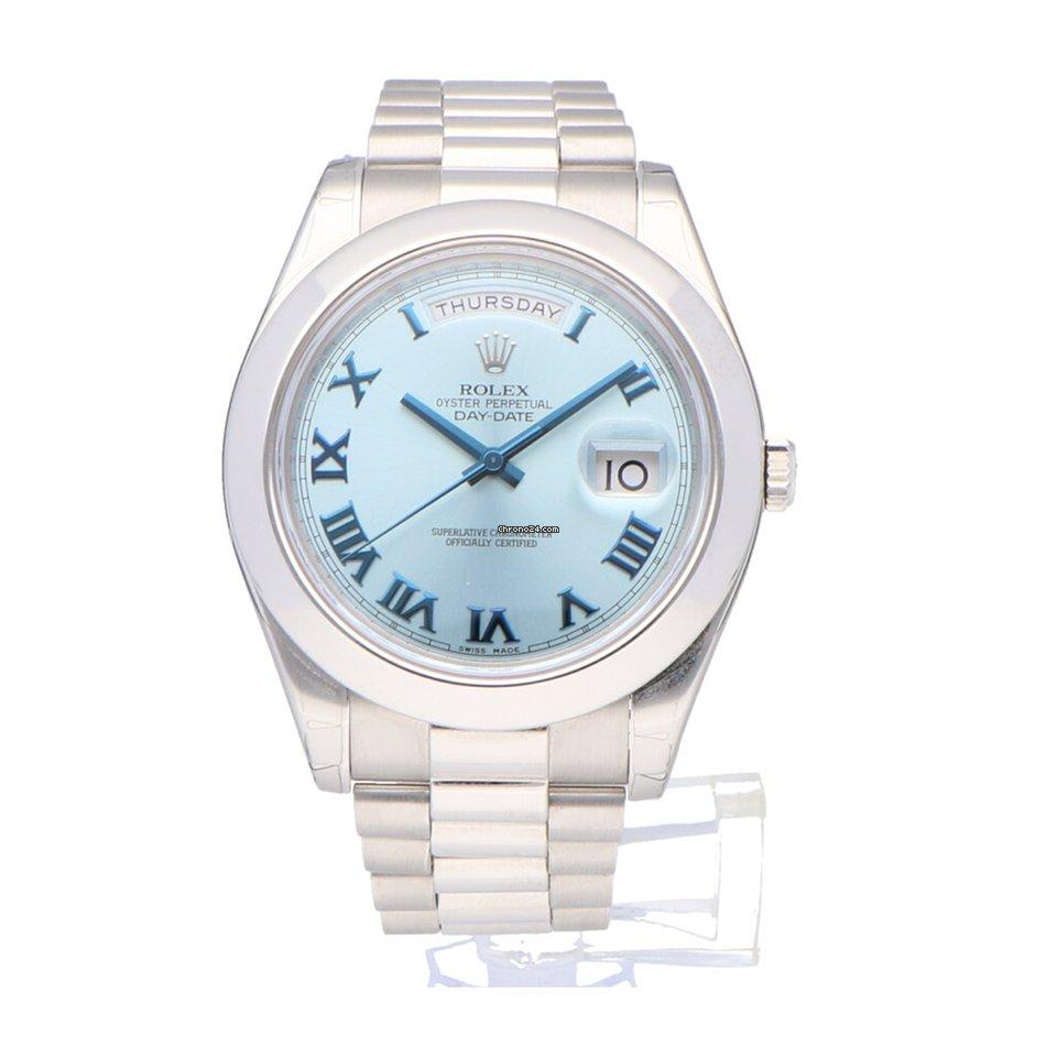 Rolex Day-Date II 218206 2009 tweedehands