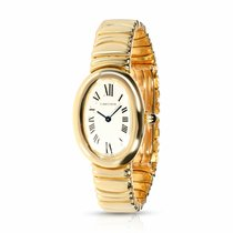 Cartier Baignoire Yellow gold 23mm Silver Roman numerals United States of America, New York, New York