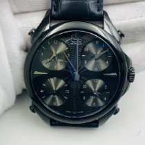 Jacob & Co. Five Time Zone Steel 44mm Black United States of America, New York, NYC