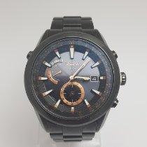 Seiko Titanio Cuarzo Negro Sin cifras 47mm usados Astron GPS Solar