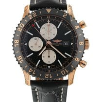 Breitling Rose gold Automatic 46mm new Chronoliner