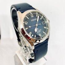 Seiko Prospex Steel 38mm Blue Arabic numerals United States of America, New York, NY