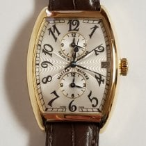 Franck Muller Master Banker Yellow gold 31mm Silver Arabic numerals United States of America, Utah, Salt Lake City