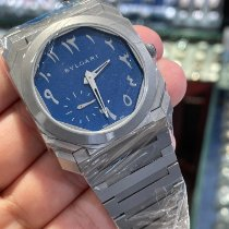 Bulgari Octo Steel 40mm Blue