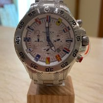 Nautica Steel 49mm Quartz A29513g new