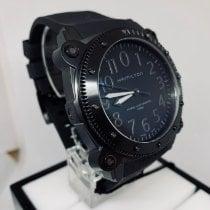 Hamilton Khaki Navy BeLOWZERO Titanium 46mm Black Arabic numerals United States of America, New York, NY
