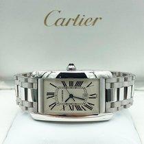 Cartier Tank Américaine White gold 26.5mm White Roman numerals UAE, Abu Dhabi