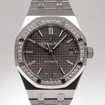 Audemars Piguet Royal Oak Lady Acero 37mm Gris Sin cifras