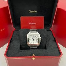 Cartier WSSA0018 Steel 2020 Santos (submodel) 39.8mm new United States of America, New York, New York