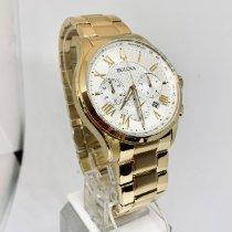 Bulova Classic Gold/Steel 46.5mm Silver Roman numerals United States of America, New York, NY